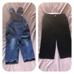 Other - 24 Month Boys Overalls & Corduroy Pants
